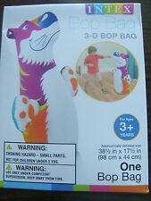 """FLOATING INFLATABLE TIGER 38-1/2"""" x 17-1/2""""  SWIMMING POOL Toy BOP BAG INTEX NEW"""