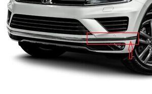 repalcement for 2015 -17 Touareg Front Bumper LH chrome trim molding stripe