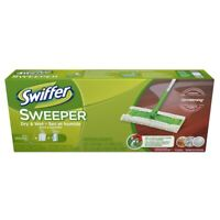 Swiffer Sweeper Complete Pack with 2 Dry Sweeping Cloths & 1 Wet Mopping Cloth