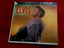 ELVIS PRESLEY~EP~ELVIS~EPA-992~VOL 1 ~ POP 45