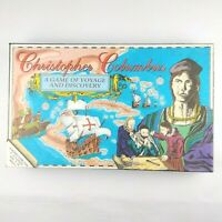 Christopher Columbus A Board Game of Voyage and Discovery By BMI 1992 Complete