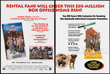 THE SANDLOT__Original 1993 Trade print AD movie promo__DENIS LEARY__TOM GUIRY