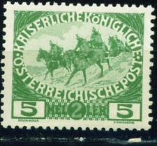 Austria WW1 Cavalry stamp 1915 MLH
