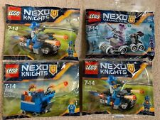HUC *REAL* LEGO NEXO KNIGHTS SET OF 4 POLYBAGS - 30372 30378 30371 30371