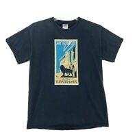 Art Institute Tee T-Shirt Mens Size M Medium Faded Black Short Sleeve