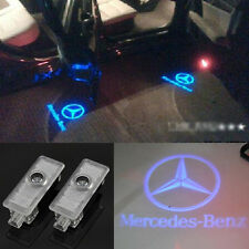 2x LED Blue door welcome laser Projector light For Mercedes-Benz CLS CLA C207
