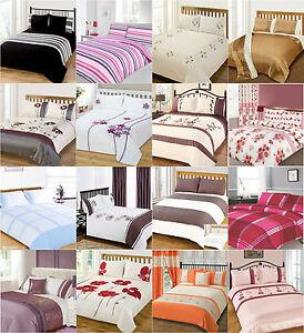 Duvet Cover Bedding Sets Single Double King Duvet / Quilt Cover Bedding Sets