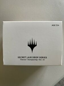 Secret Lair Theros Stargazing Erebos Volume III MTG SEALED BOX Vol 3 IN HAND