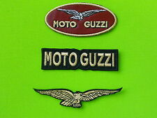 MOTO GUZZI KIT 3 PATCH TOPPE RICAMATE TERMOADESIVE