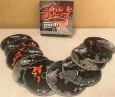 INSANITY FITNESS DVD SET WORKOUT GYM BEACHBODY 10 DVD SUMMER BODY BARGAIN NEW
