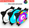 120mm Case fan Computer Cooling Cooler fans 3pin Colorful RGB LED Fan Rgb Fan