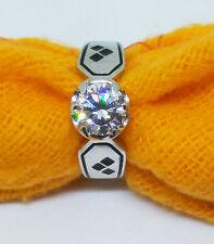 New Stunning Batman Harley Quinn 925 Sterling Silver Engagement Ring Free Gift