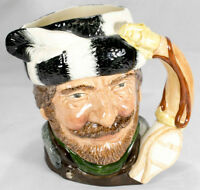 "Limited Royal Doulton Character Jug ""The Trapper"" D6609-Canadain Series-Excellen"