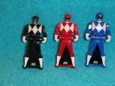 Mighty Morphin Power Rangers  Red, Blue, Black  Key