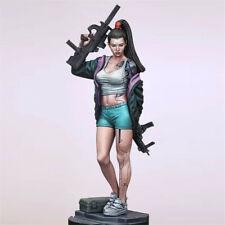 1/24 Bloody warrior Girl Resin Kits Unpainted Figure Model GK Unassembled