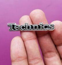 New Limited Technics Logo Badge Stereo Receiver Enamel Pin