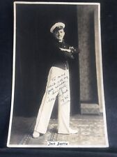 Vintage Signed  Photo Jack Beattie Music Hall Stage Theatre Entertainer Musical