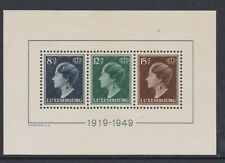 Luxembourg - MS 524a - u/m - 1949 - 30th year Reign of Grand Duchess Charlotte