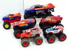 Monster Jam Superman Ironman Lot DC Truck Superhero 1:64 1:24 1:43