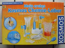 Mein erstes Kosmos Chemie-Labor 1x benutzt Alter 8+
