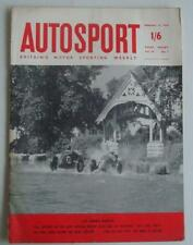 Weekly Cars, Pre-1960 Autosport Transportation Magazines