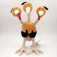 "Dodrio Triple Bird Pokemon Plush Toy Dodorio Pokedoll Stuffed Animal Figure 12"""