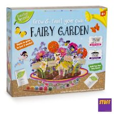 Childrens Grow Your Own Fairy Flower Garden Kids Decorate Learning Science Toy