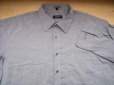 EH209 ETERNA CLASSIC FIT Hemd 46  Grau meliert Unifarben Gut