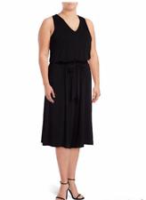 Jessica Simpson Plus Size Waist Tie black Jumpsuit romper size 2X