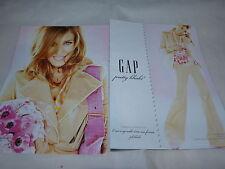 SARAH JESSICA PARKER - Publicité de magazine / Advert !!! GAP !!