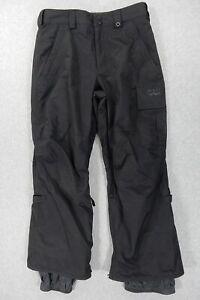 Burton DryRide Poacher Ski Snowboard Pants (Mens XS) Black