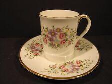 Royal Doulton Porcelain Cabinet Demitasse Cup & Saucer Danbury Mint Collection