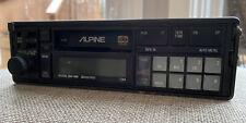 Vintage Alpine Cassette Deck 7284 Old School Car Cassette Deck
