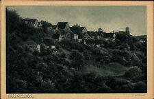 """AK Hommel """"Das Städtchen"""" BRAUNECK b. Niedersteinach Postkarte ca. 1920"""