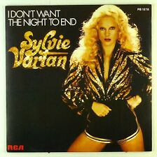 "7"" Single - Sylvie Vartan - I Don't Want The Night To End - S1945"