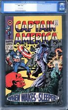 Captain America 101 CGC 9.2 NM- (1968 Series) with Off-White Pages (Avengers)
