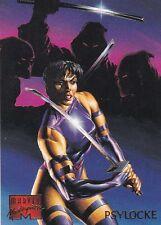 1995 Fleer Marvel Masterpieces Trading Card #76 Psylocke