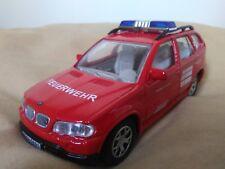 Preciosa miniatura 1:43 BMW X5 Bomberos Alemanes. Joy City.