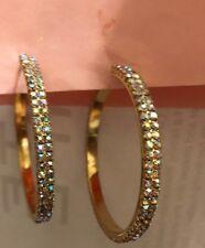 39ef46989dc1f Anthropologie Crystal Hoop Fashion Earrings for sale | eBay