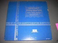MOZART King of Prussia and Haydn Quartets 3 LP Box Fine Arts Concert Disc NM