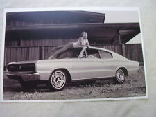 1966 DODGE CHARGER  PLAYMATE OF YEAR CAR?  11 X 17  PHOTO  PICTURE