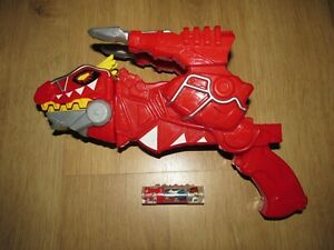 Power Rangers T Rex Red Dino Charge Morpher Gun & Dino Charger #1