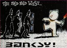 Banksy leve leve West Pegatinas de Vinilo Coche Furgoneta Camión Taxi Camión
