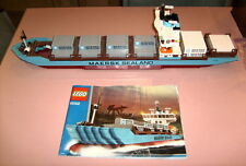 Lego 10152 - Maersk Sealand Container Ship (Original 2004 Edition) - No Box