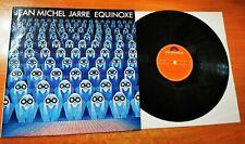 New listing JEAN MICHEL JARRE Equinoxe ULTRA RARE SPANISH LP VINYL MADE IN SPAIN 1978 JARRE