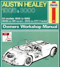 Austin Healey 100//6 and 3000 Owners Workshop Manual Service /& repair manuals