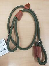 Bisley STANDARD DUTY Rope Dog Slip Lead QUALITY ROPE AND LEATHER (BIDLLS)