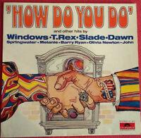 How Do You Do / Windows Slade T.Rex Dawn Melanie Barry Ryan u.m. LP Vinyl 1972