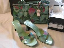 "Via Spiga Vintage Matching Heels & Purse - ""Mint Clover"" - NWT!! -Spring Fashion"