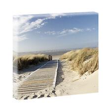 Bilder Keilrahmen  Leinwand Kunstdruck Wandbild  XXL Nordsee 80 cm*80 cm 301